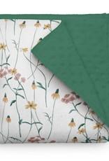Olé Hop Minky Blanket - Wildflowers