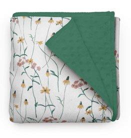 Olé Hop Couverture minky - Fleurs sauvages