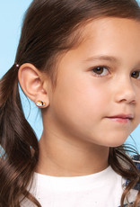 Girl Nation Boucles d'oreilles en émail - Renard
