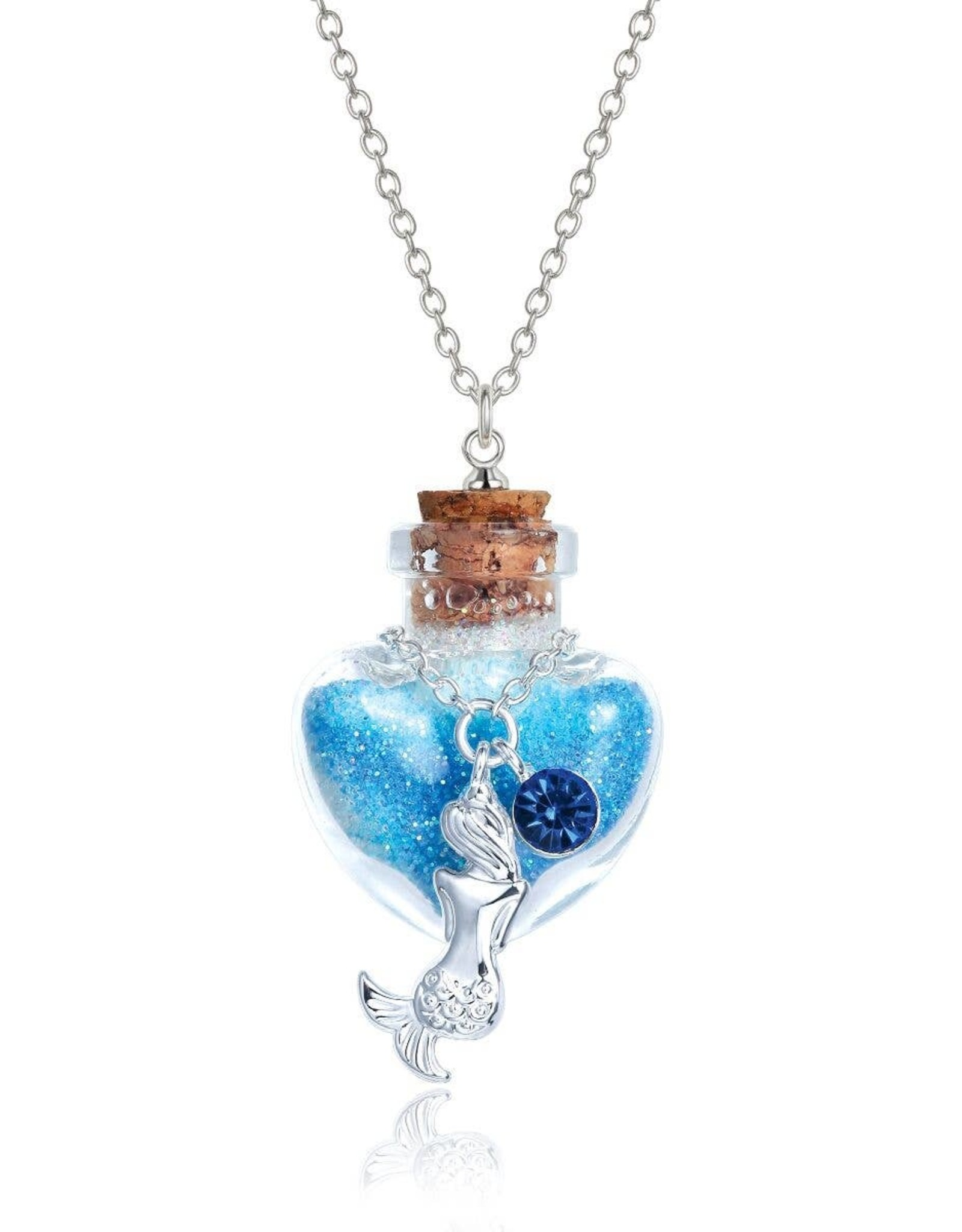 Girl Nation Magic in the bottle necklace - Mermaid