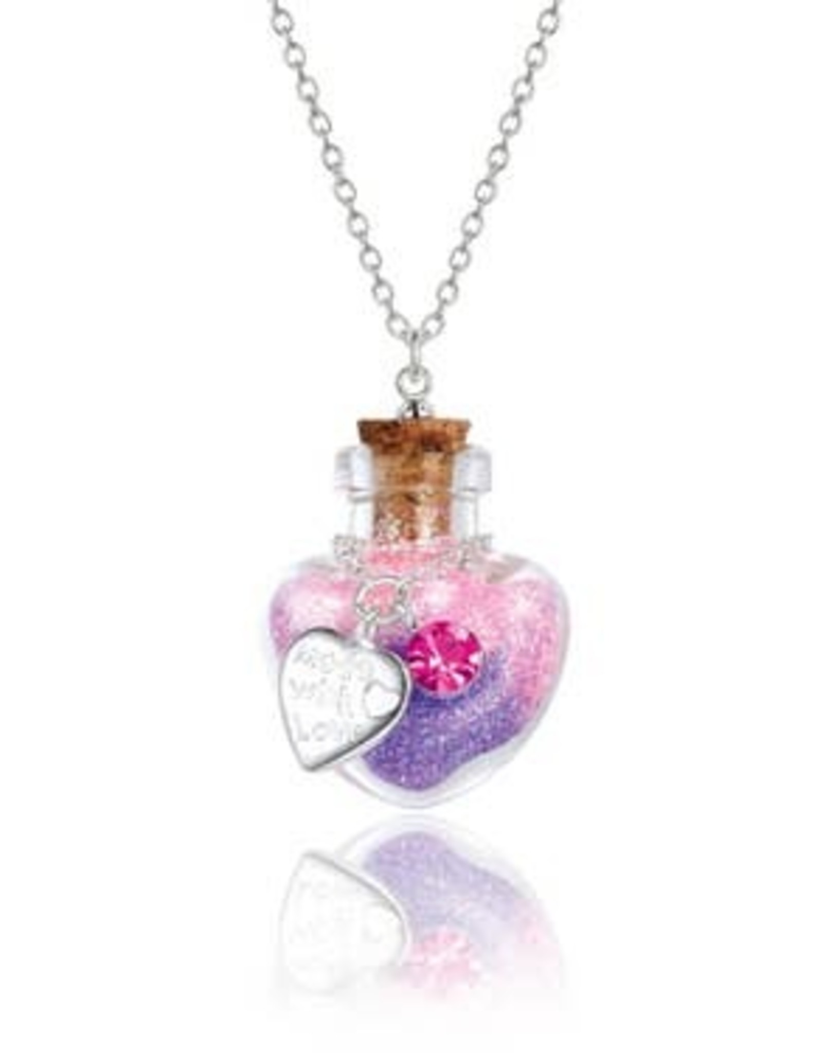 Girl Nation Magic in the bottle necklace - Heart