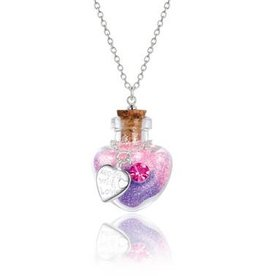Girl Nation Collier Magie en bouteille - Coeur