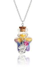 Girl Nation Collier Magie en bouteille - Licorne