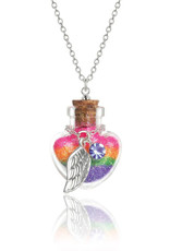 Girl Nation Magic in the bottle necklace - Wing