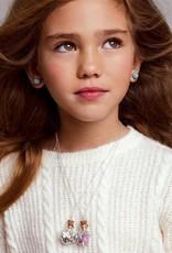 Girl Nation Birthstone Bottle Gems Necklace - November