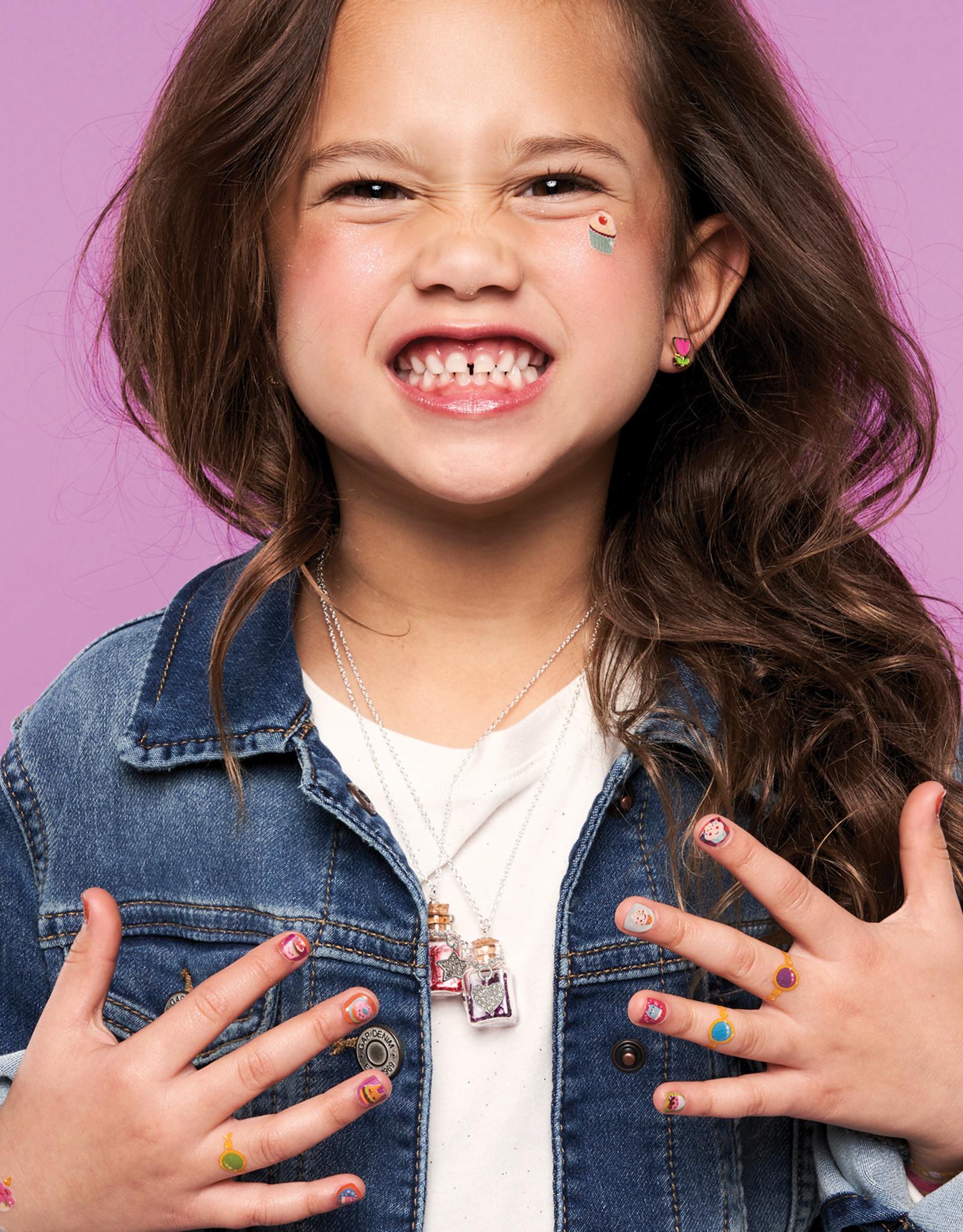 Girl Nation Collier avec gemmes de naissance - Juillet