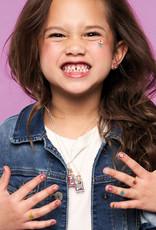 Girl Nation Collier avec gemmes de naissance - Mars