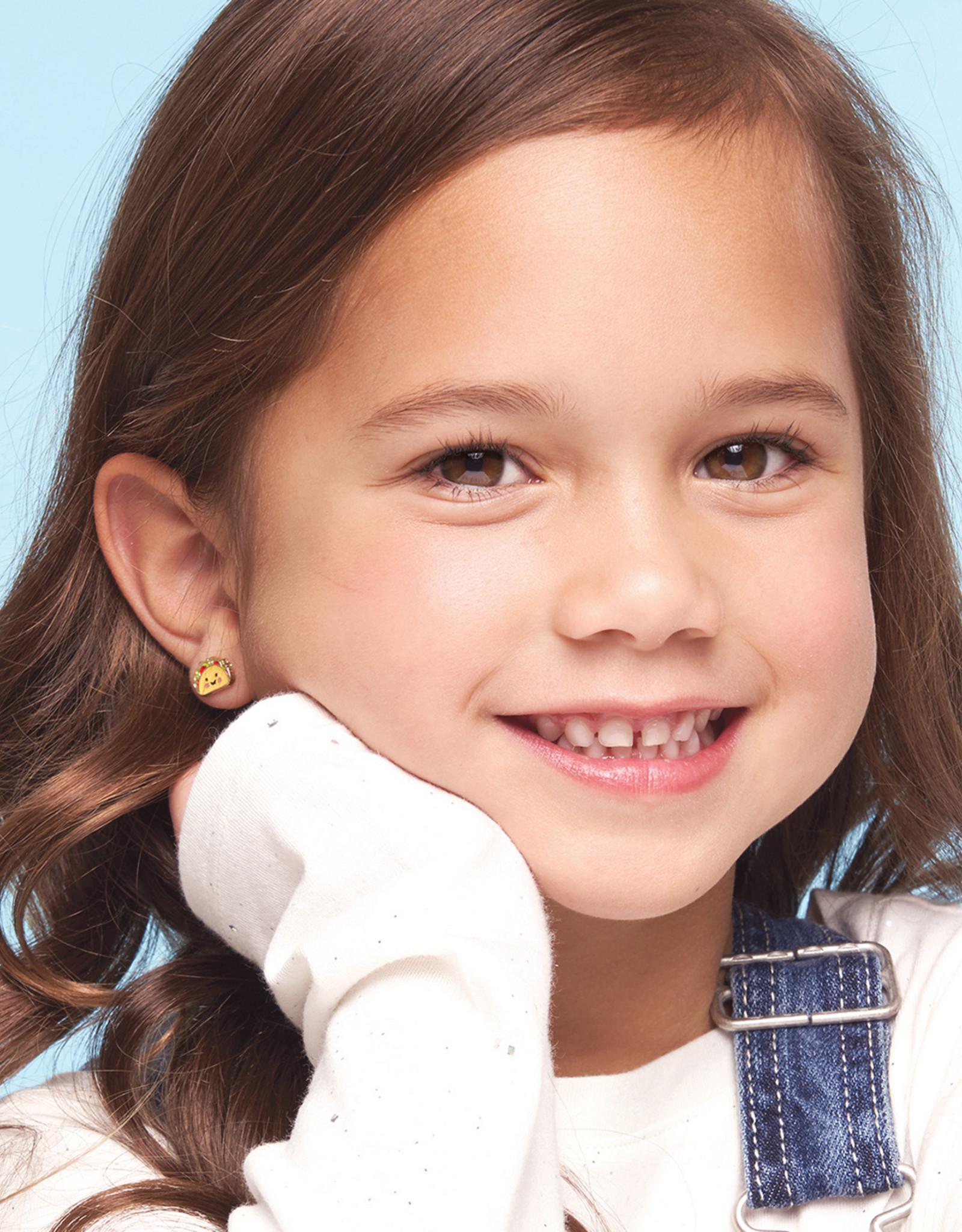 Girl Nation Assortiment de 6 boucles d'oreilles en émail - Ballerine