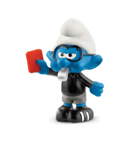 Schleich Smurf - Football Referee