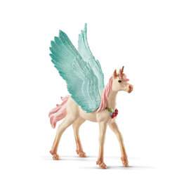 Schleich Decorated Unicorn Pegasus - Foal