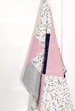 Les Petits Ziboo Couverture - Courtepointe Faon et fleur