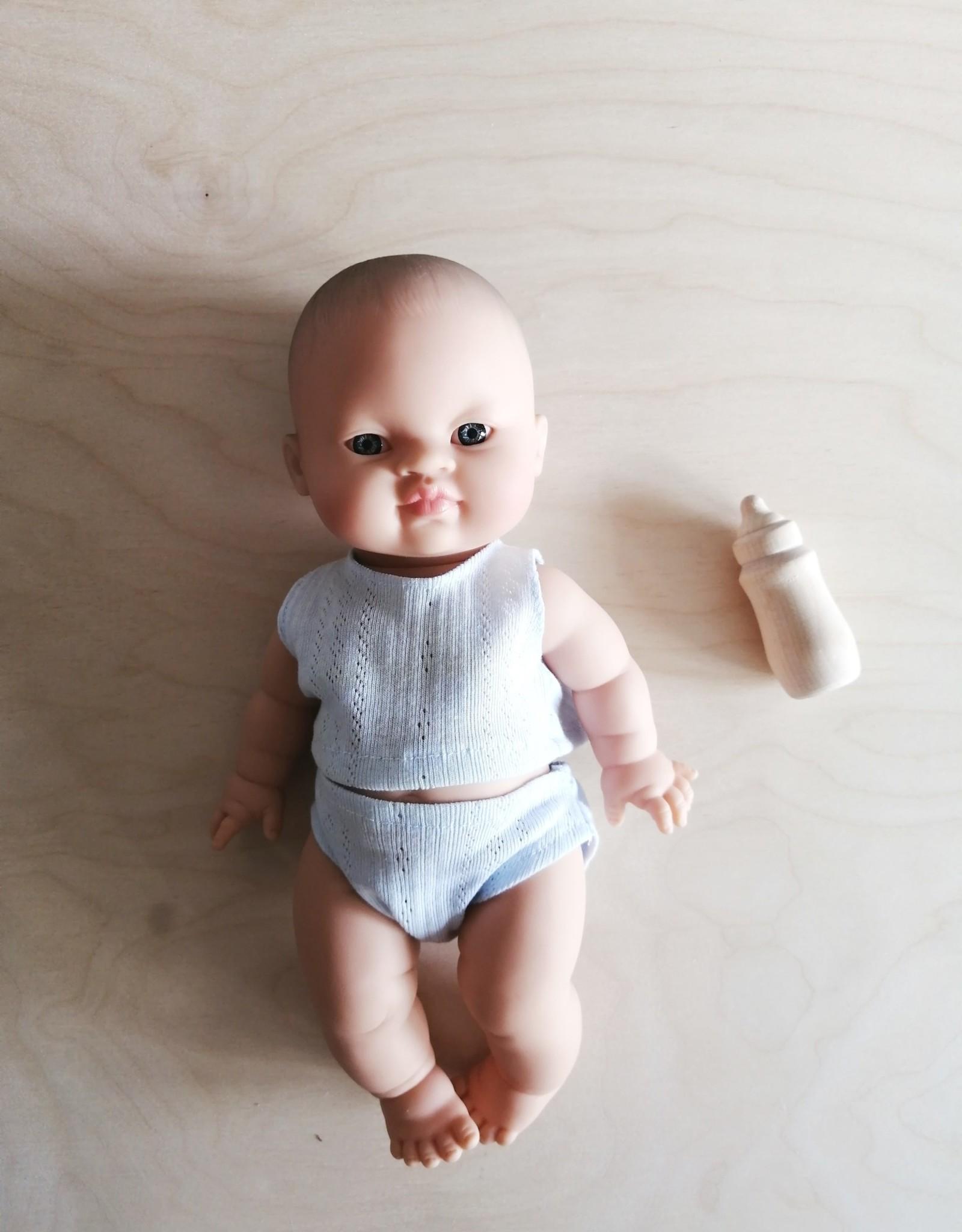Veille sur toi Wooden doll bottle