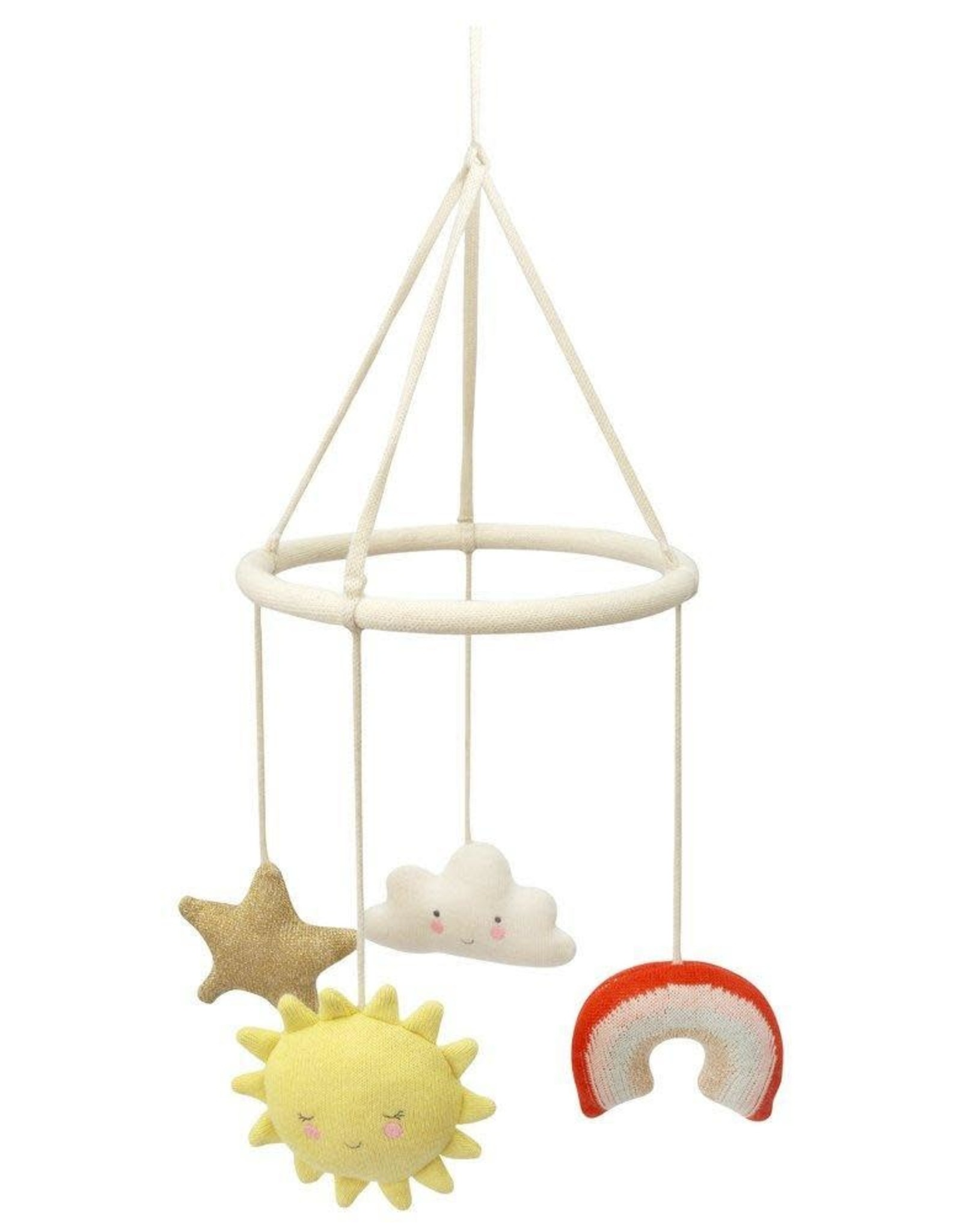 Meri Meri Baby Mobile - Happy Weather Knitted
