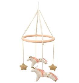 Meri Meri Mobile - Licornes avec étoiles