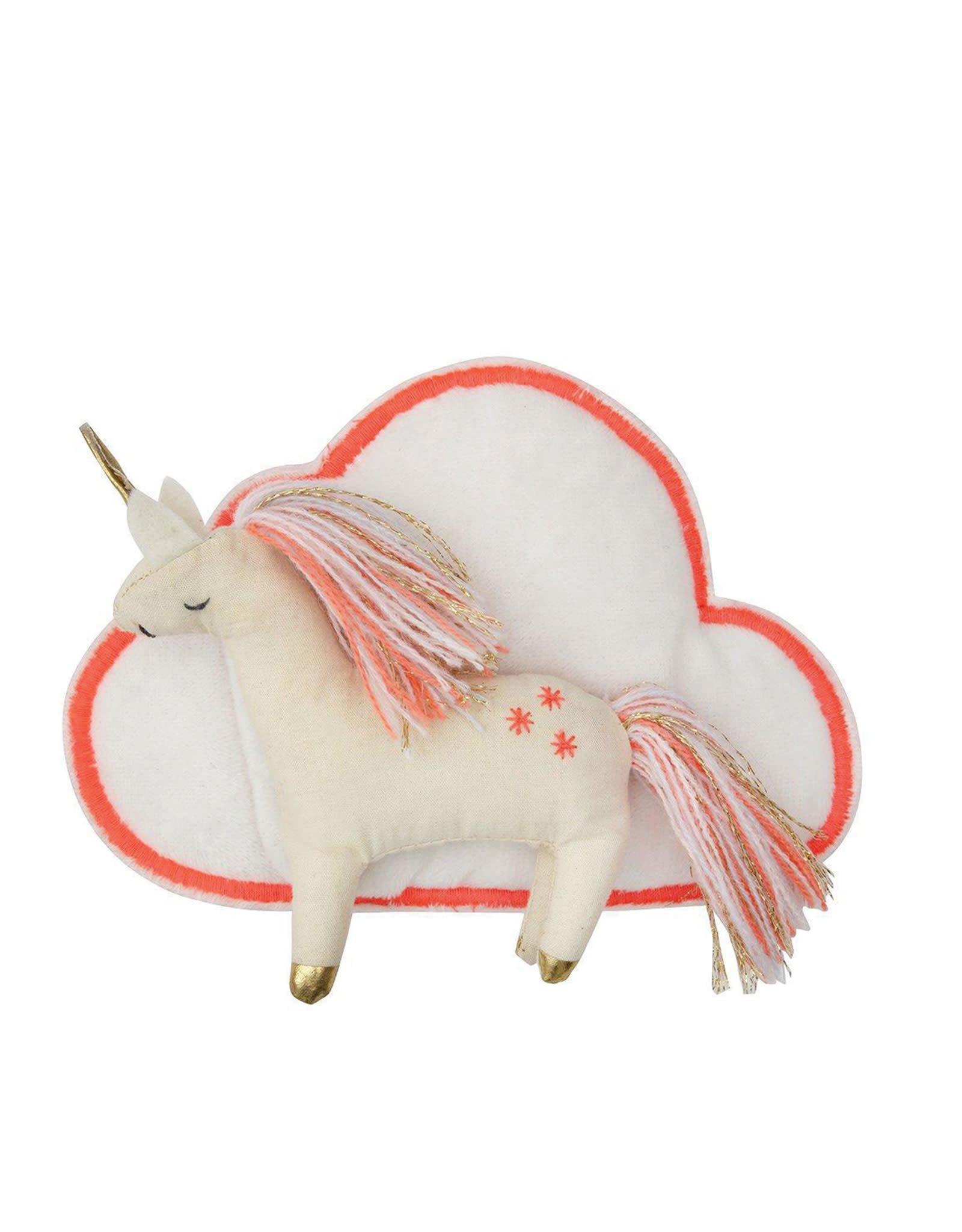 Meri Meri Valise et figurine - Petite licorne