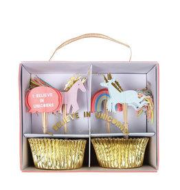 Meri Meri Cupcake Kit - I believe In Unicorns