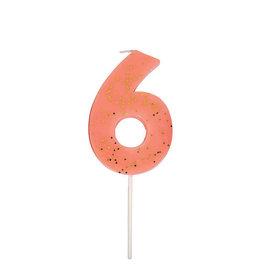 Meri Meri Birthday Candle - Number Six