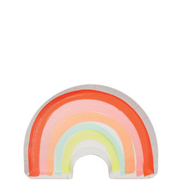 Meri Meri Pack Of Plates - Rainbow