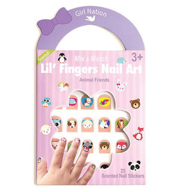 Girl Nation Ongles de fantaisies - Les amis animaux