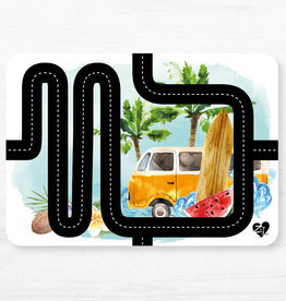 Zack et Livia Car Path Placemat - Westfalia