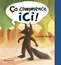 Livre Ça commence ici (French)