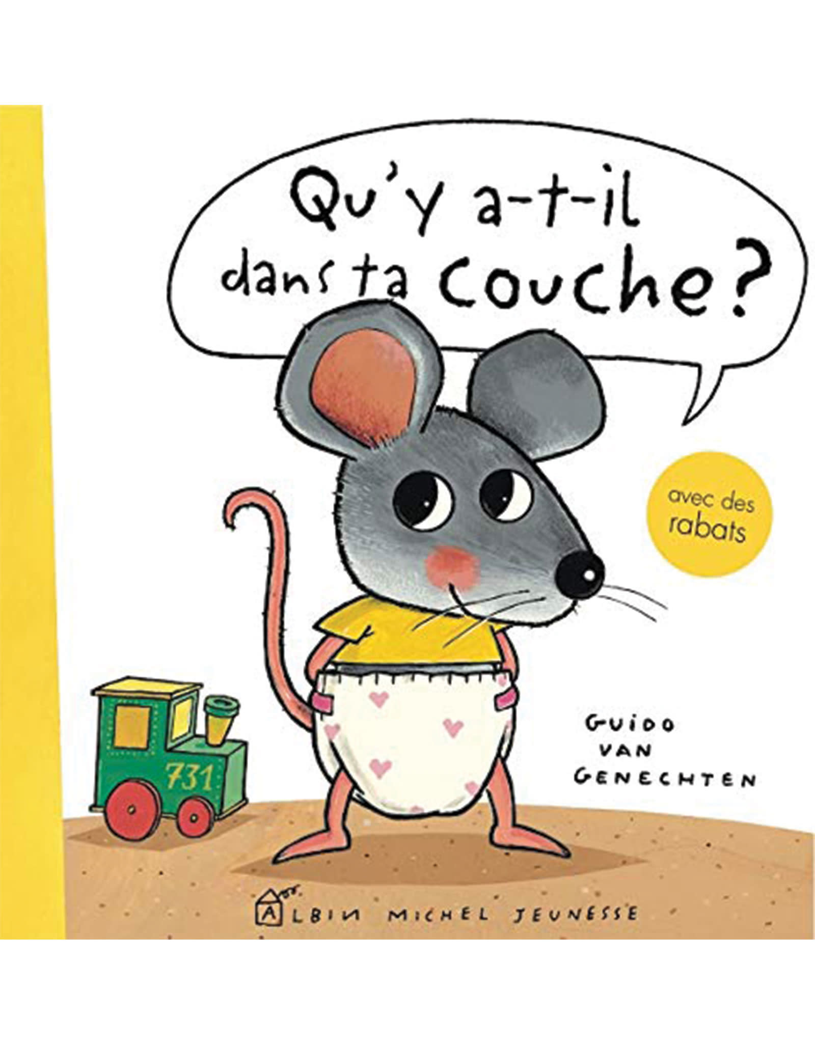 Livre Qu'y a-t-il dans ta couche? (French)