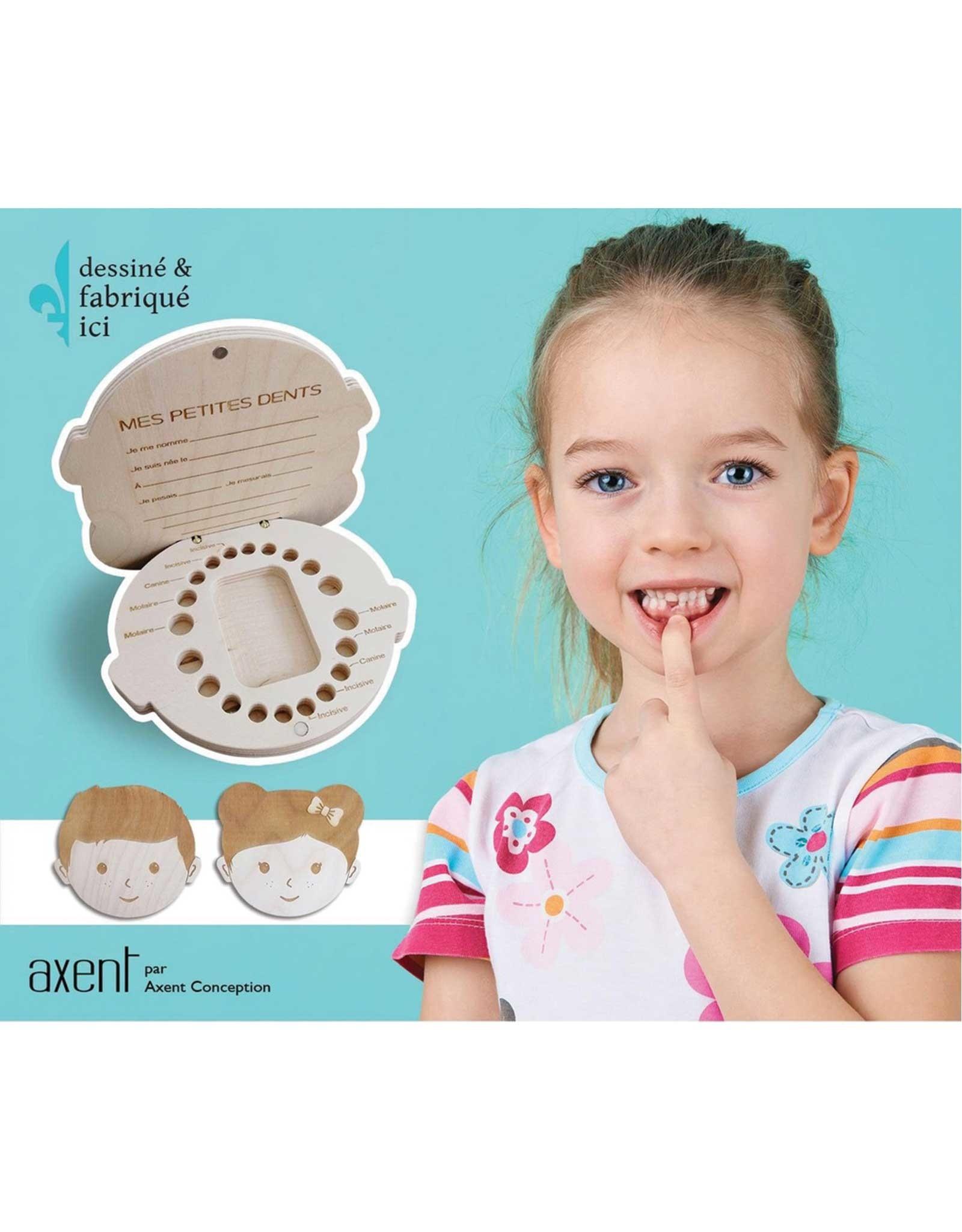 Axent Conception Boîtier pour les dents - Garçon