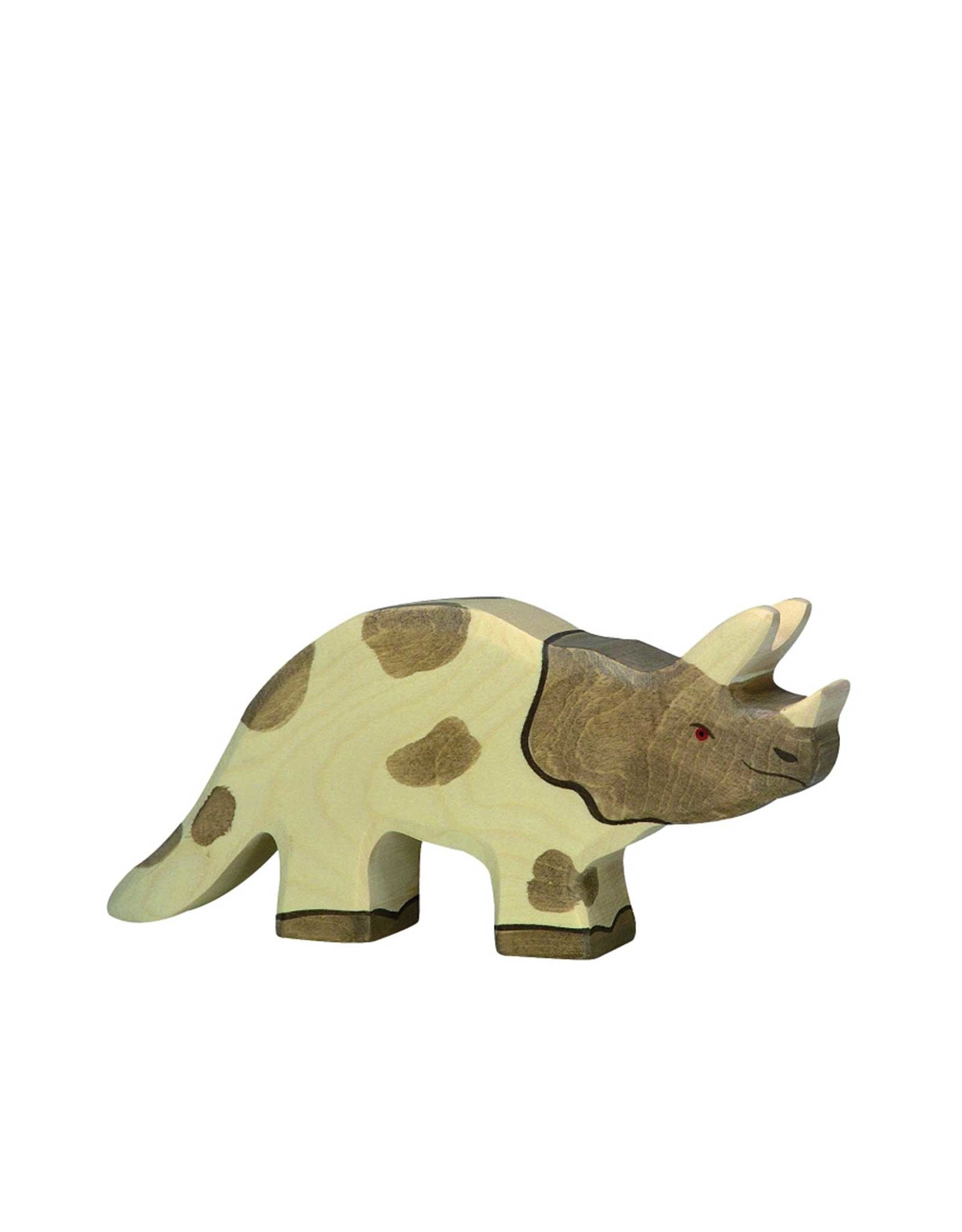 Holztiger Wooden Dinosaur - Triceratops