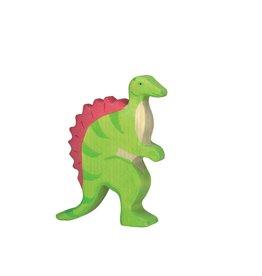 Holztiger Dinosaure en bois - Spinosaure