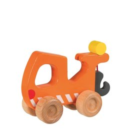 Goki Wooden Car - Breakdown Lorry