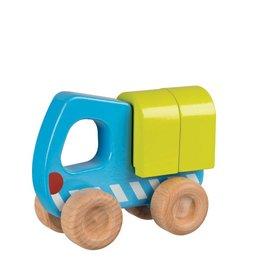 Goki Wooden Car - Truck