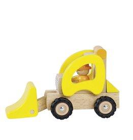 Goki Wooden Car - Wheel Loader