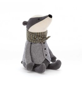 Jelly Cat Plush - Riverside Ramper Badger