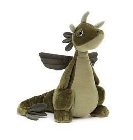 Jelly Cat Plush - Olive Dragon