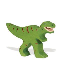 Holztiger Dinosaure en bois - Tyrannosaure