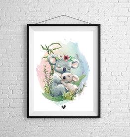 Zack et Livia Illustration - Koala