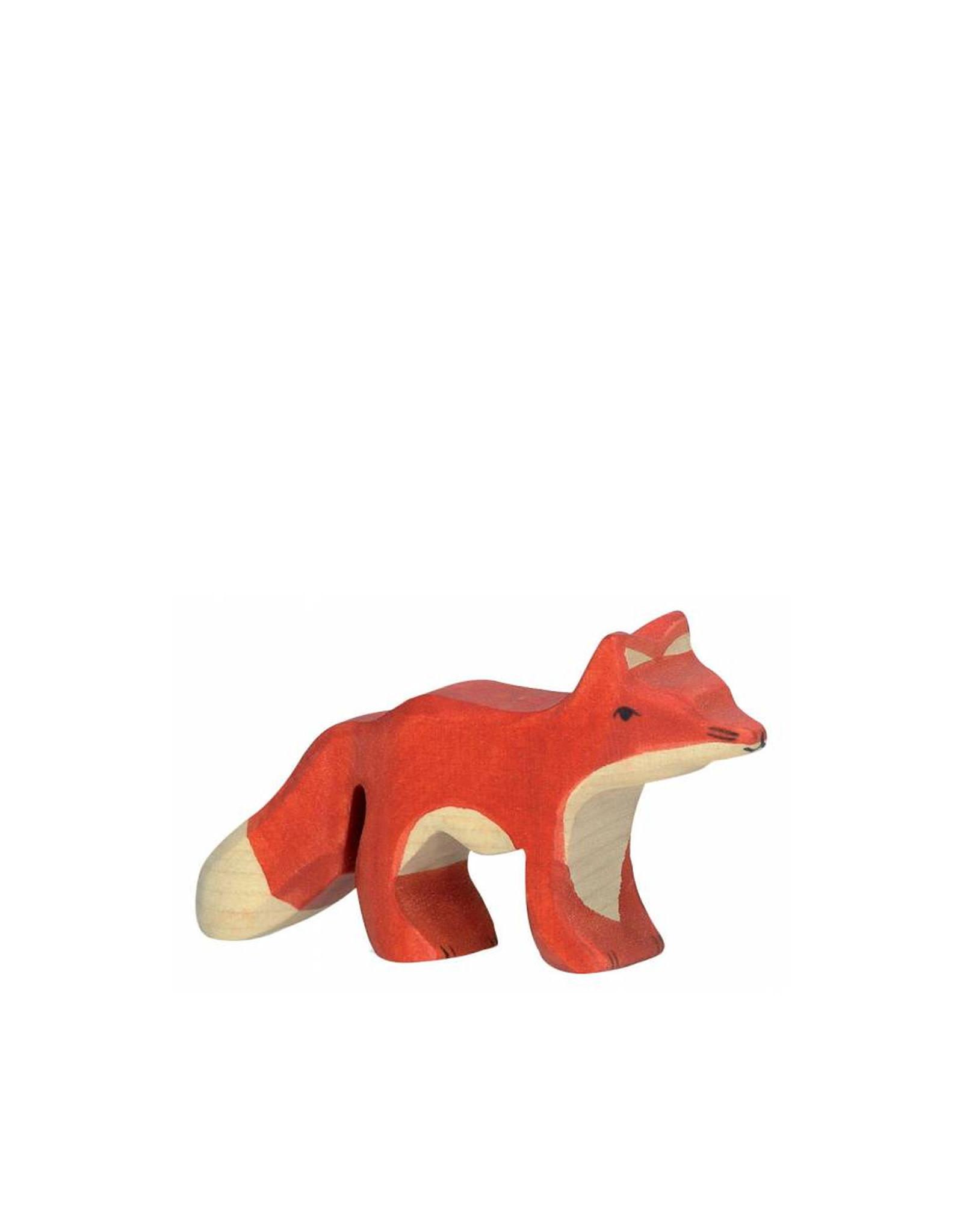 Holztiger Animal en bois - Bébé renard