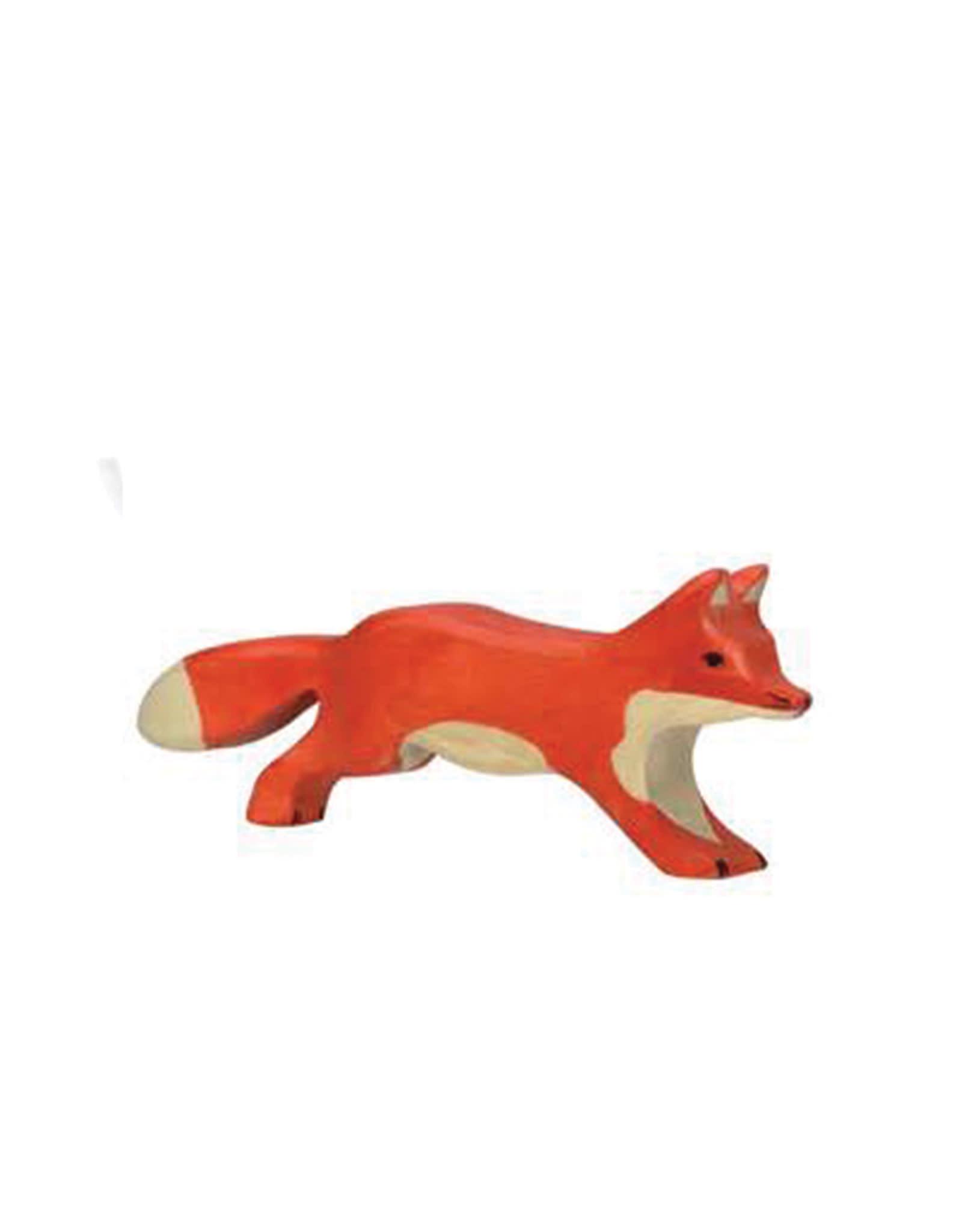 Holztiger Animal en bois - Renard qui coure