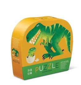 Crocodile Creek Mini casse-tête - 12pièces - Dinosaures 3+