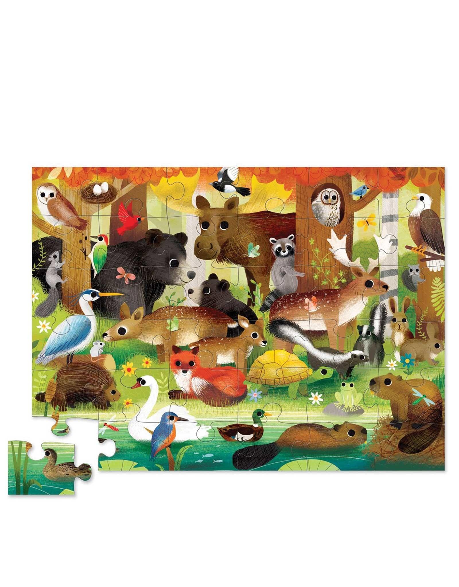 Crocodile Creek Puzzle - 36pieces - Forest Friends 3+
