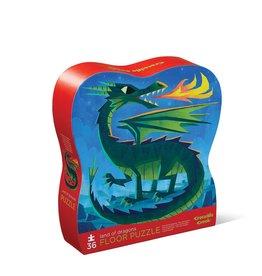 Crocodile Creek Puzzle - 36pieces - Land Of Dragons 3+