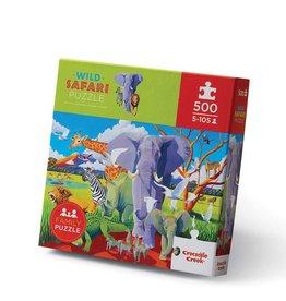 Crocodile Creek Puzzle - 500pieces - Wild Safari 8+