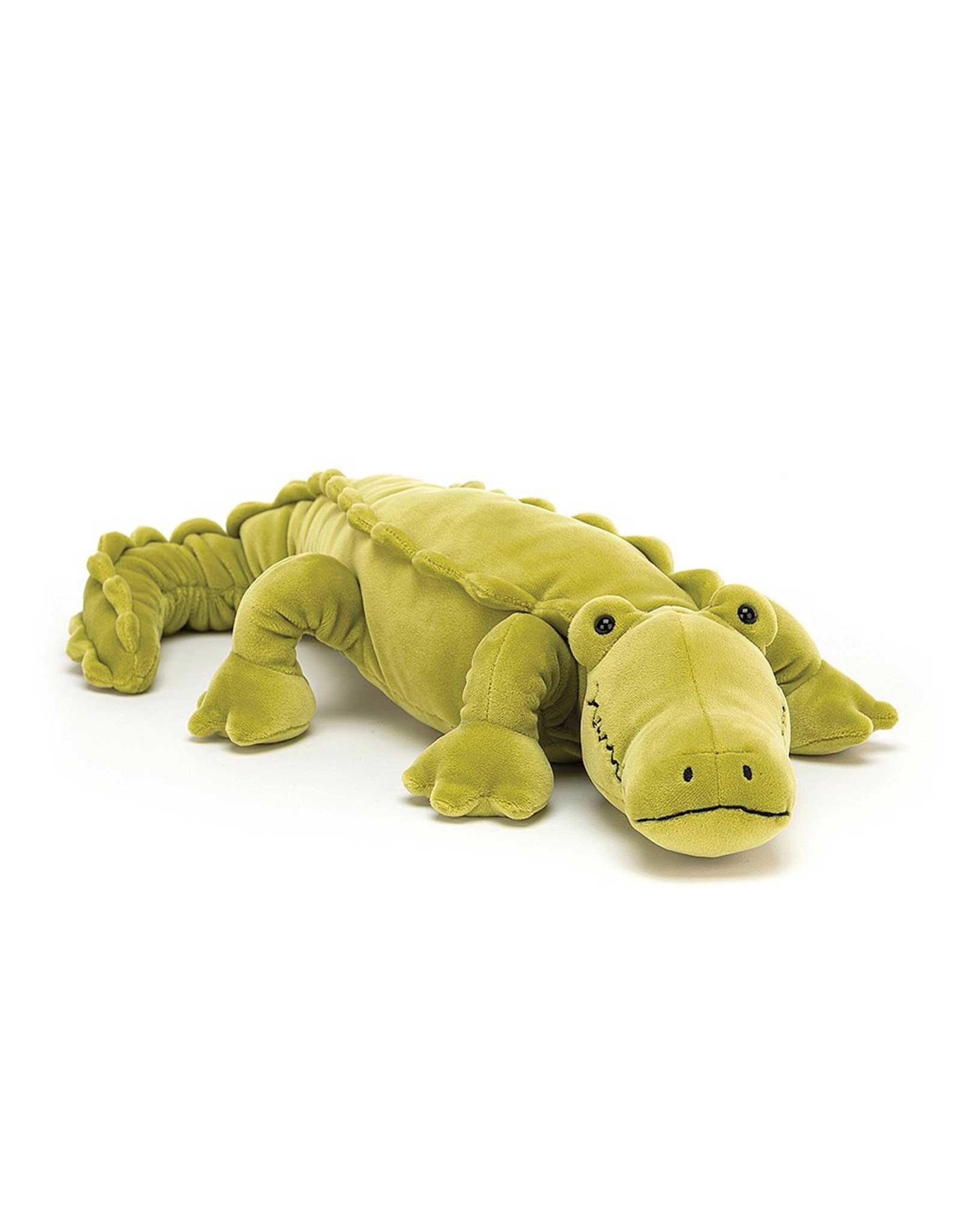 Jelly Cat Peluche -  Zigzag le crocodile