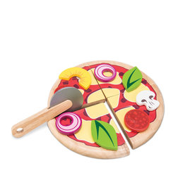 Le Toy Van Create Your Own Wooden Pizza