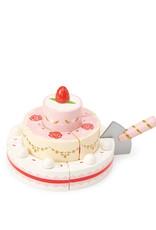 Le Toy Van Gâteau de mariage à la fraise