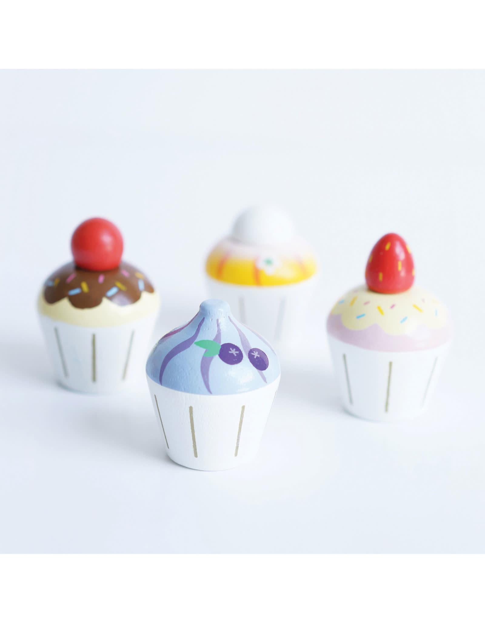 Le Toy Van Cupcakes en bois