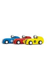 Le Toy Van Ensemble de 3 voitures à propulsion arrière