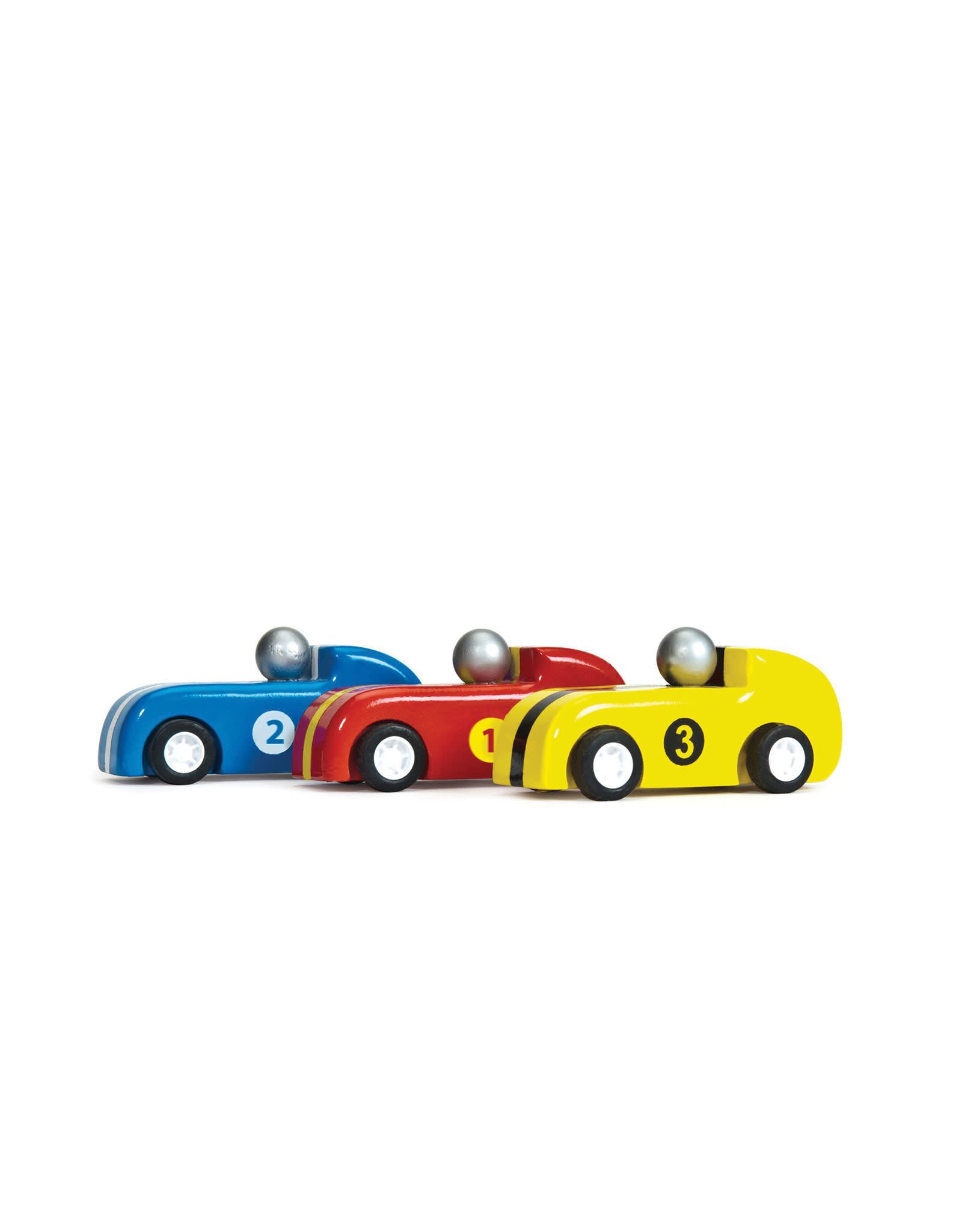 Le Toy Van Pullback Wooden Racers