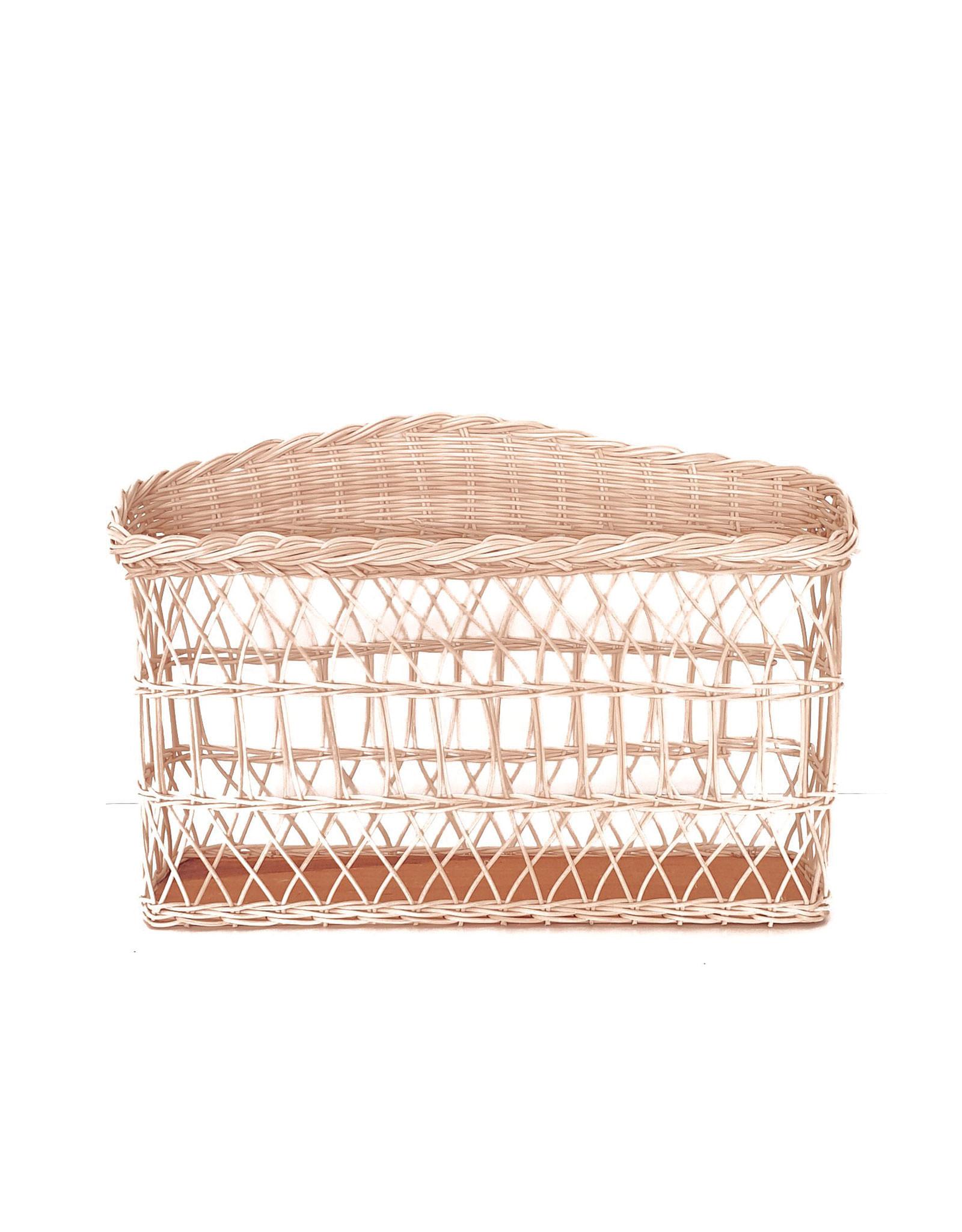 Coconeh Wiker Rectangle Basket