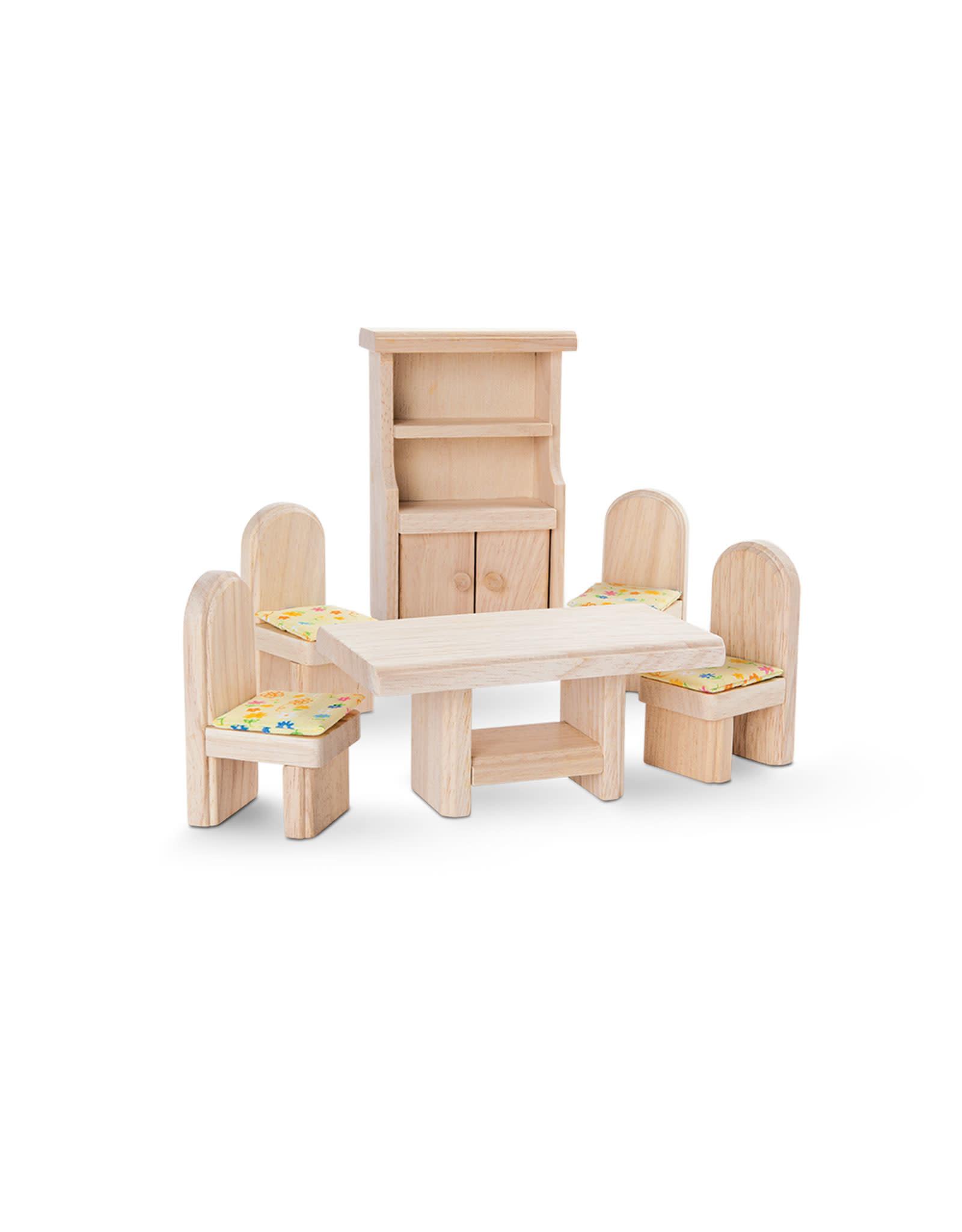 Plan Toys Ensemble maison de poupée - Salle à manger